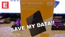 WD My Passport 4TB External Hard Drive Unboxing