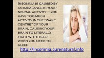 Insomnia Cures Natural and Home Remedies