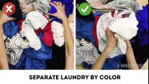 5 Laundry Mistakes You re Probably Making l 5-MINUTE CRAFTS