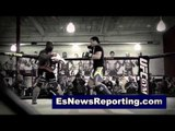 MMA Star Lyoto Machida Showing His Skills How Would He Do In Boxing Ring - esnews