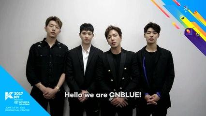 KCON_NY_SHOUTOUT 씨엔블루 060217