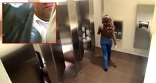 Kadınlar Tuvaletine Gizli Kamera Yerleştiren Çalışanı, Kayda Giren Yüzü