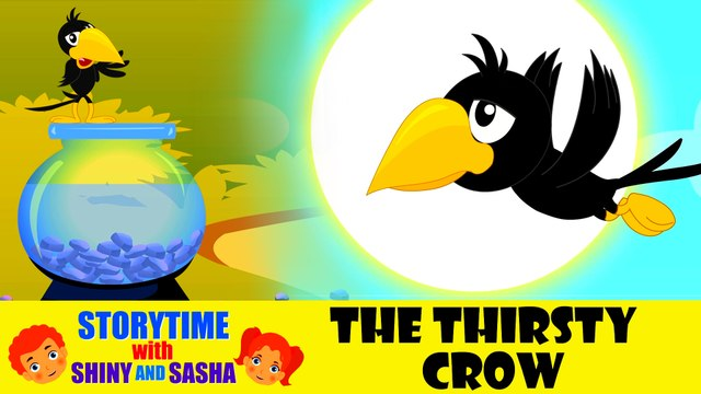 The Thirsty Crow | English Animated Stories | Bedtime Stories For Kids | Koo Koo Tv