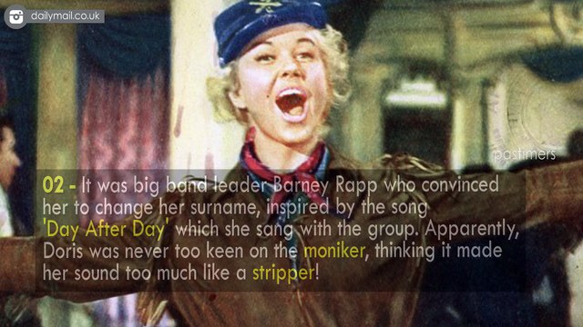 Unknown Shocking Facts About Doris Day