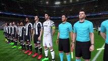 PES2017 PS4 1080p HD FINAL Champions League Juventus-Real Madrid