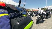 D!CI TV : Hautes-Alpes : 100 motards sensibilisés à la conduite en deux-roues par la gendarmerie