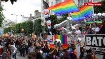 Rennes. Environ 3.000 personnes à la Gay Pride