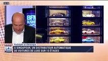 Rodolphe se démarque: Un distributeur automatique de voitures de luxe sur 15 étages à Singapour - 03/06