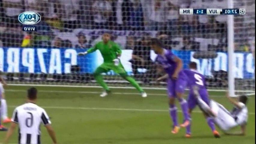 Juventus 1 - Real Madrid 1  // Gol de Mandzukic Final Champions League