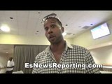 Quan Paxton of team kovalen talks s&c with fighters - EsNews Boxing