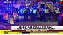 """Londres : Plusieurs piétons renversés par un véhicule sur le """"London bridge"""" - Important déploiement policier"""