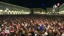 Turin : mouvement de panique dans la foule