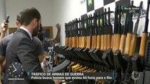 Polícia busca homem que enviou 60 fuzis para o Rio de Janeiro