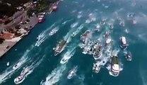 Beşiktaş donanması hücum ediyor! BJK Şampiyonluk Kutlamaları
