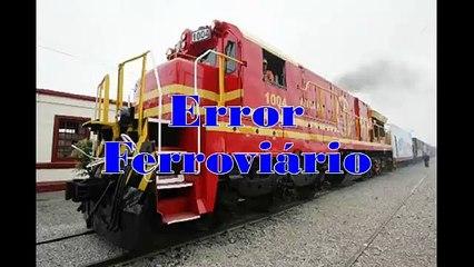 Error Ferroviario