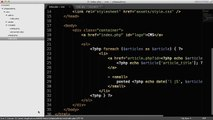 PHP Tutorials | Create a CMS (Custom) (Part 5_7)23432