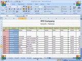 MS Excel 2007 Tue Tab Cells Block Inse