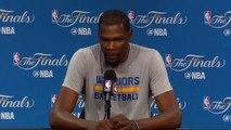 【NBA】Kevin Durant Media Availability Cavaliers vs Warriors Game 2 June 3 2017 2017 NBA Finals