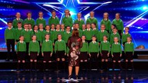 St. Patrick's Junior Choir Shows off Their Voices and Touch Everyone, Britain's Got Talent
