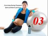 La grossesse Exercices de sport pour femme enceinte 03