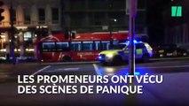 Attentats à Londres: scènes de panique près du London Bridge et de Borough Market