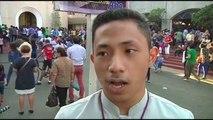 Filipine, nisin kremtimet e së mërkurës së përhimë - Top Channel Albania - News - Lajme