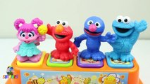 Brinquedo Pop Up Surpmo - Disney Sesame Street Pop Up Pals Surprise Cookie Monst