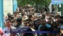 Intervention d'Amélie M. CHELLY sur France 3 le jour des élections présidentielles iraniennes