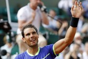 Rafael Nadal beats Roberto Bautista Agut in the 4th round of the French open