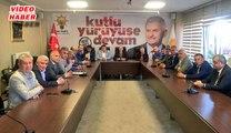 (4 Haziran 2017) Ak Parti Haziran Ayı  İlçe Başkanları Toplantısı Yapıldı