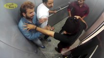 People Trapped With Killers In Lift : Caught On CCTV | Pranks In India | Prankbaaz 2016