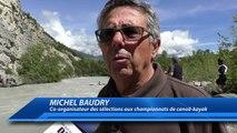 Hautes-Alpes : plus de 200 kayakistes aux sélections des championnats de France et des championnats du Monde junior à Em
