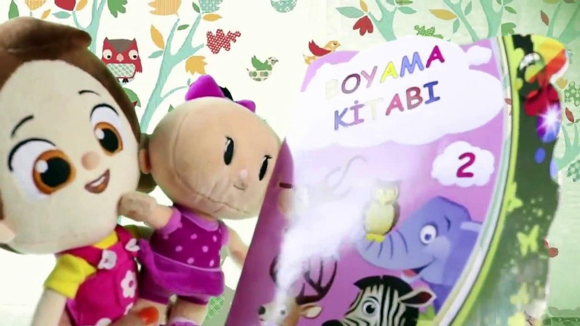 Niloya Boyama Yapiyor Bebe Ile Beraber Niloya Cizgi Film Rir