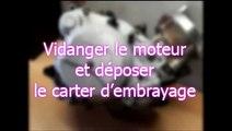 Easyboost.fr - Tutoriel démontage embrayage moteur AM6 / Derbi / Mécaboite