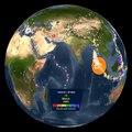 Les tremblements de terres de 2001 à 2015 sur notre planète