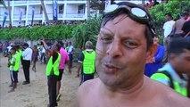 Шри Ланка, 1500 лица се натпреваруваа во пливање