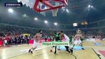 Ολυμπιακός 64-62 Παναθηναϊκός - Πλήρη Στιγμιότυπα - Β' Ημίχρονο - 3ος Τελικός - 04.06.2017