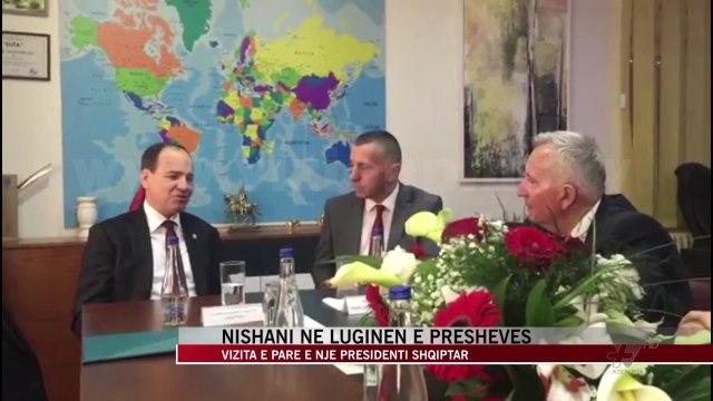 Vizita e Nishanit në Luginën e Preshevës nis me takimet në Bujanoc - News, Lajme - Vizion Plus