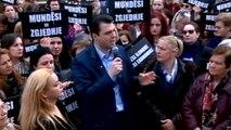 Report TV - Dita Ndërkombëtare e Gruas, Basha: Punësim dinjitoz dhe barazi gjinore