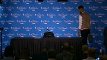【NBA】Postgame Interview Stephen Curry  Cavaliers vs Warriors Game 2 June 4 2017 NBA Finals