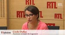 Cécile Duflot : «L'état d'urgence ne sert à rien»