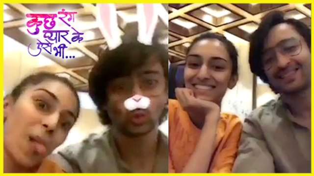 Shaheer Sheikh And Erica Fernandes MADNESS Together  Kuch Rang Pyar Ke Aise Bhi  TellyMasala