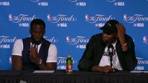 Kevin Durant & Draymond Green Postgame Interview #2   Cavs vs Warriors   Game 2   2017 NBA Finals