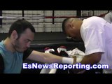 Julio Cesar Chavez Sr Is In Great Shape chavez Jr in camp with garcia - esnew