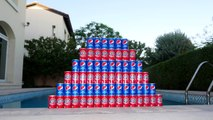 CRAZY COLOR MIX CHALLENGE COKE! w/ Spiderman, Hulk, Creepy Clown & Joker Toys Pepsi FUN in Real Lif