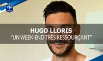 "Hugo Lloris : ""Un week-end très ressourçant"""