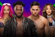 WWE Extreme Rules 2017 - Rich Swann y Sasha Banks vs. Noam Dar y Alicia Fox
