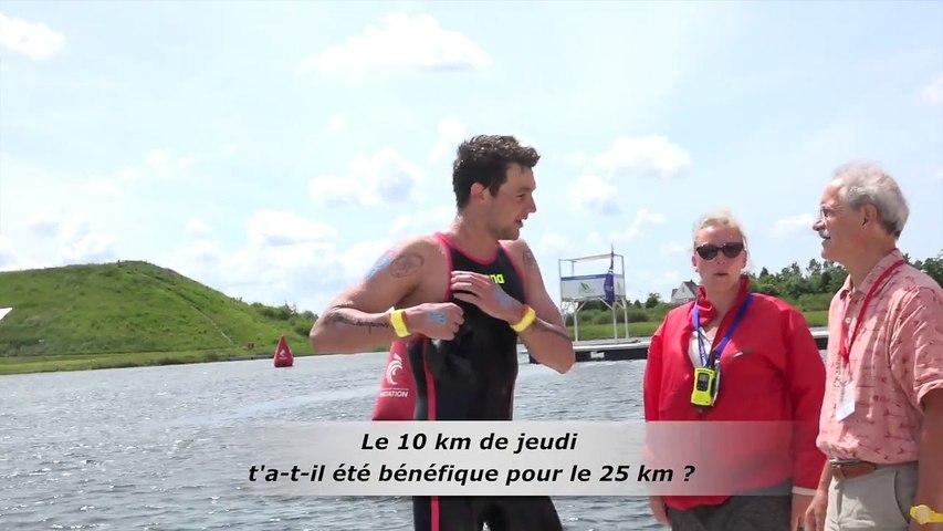 Axel Reymond - Champion de France 2017 en eau libre sur 25 km