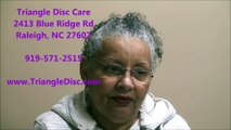 Review Triangle Disc Care | Back Pain | Herniated Disc