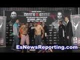 Wilfredo Vazquez Jr vs Vargas Weigh In And Faceoff - EsNews